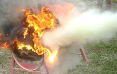 Latihan Pencegahan Kebakaran