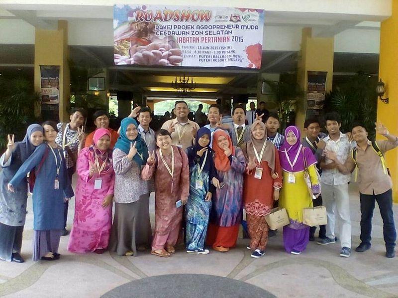 Program Agropreneur Muda Cendawan Zon Selatan Anjuran Jabatan Pertanian, Melaka